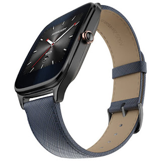 ASUS WI501Q ZenWatch 2 Learther- Dark Blue