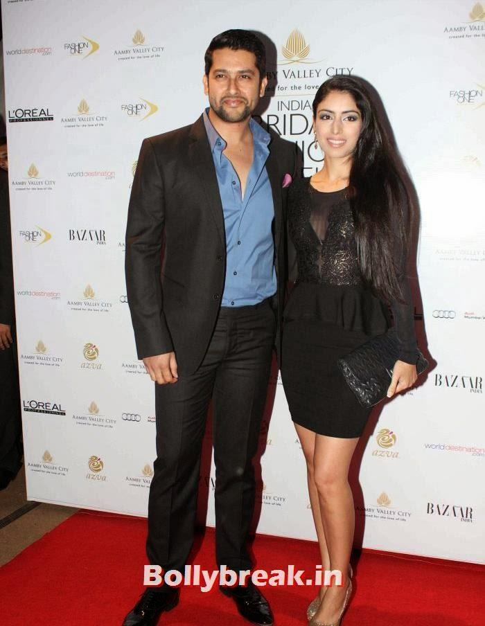 Aftab Shivdasani, Nin Dusanj, Hot Celebs at India Bridal Fashion Week 2013