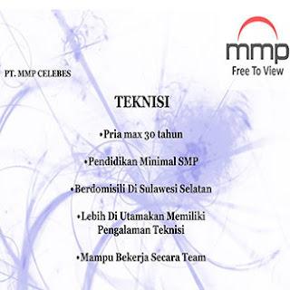 PT MMP Celebes Butuh Teknisi