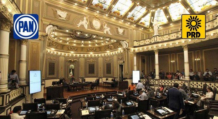 En Puebla, antes de irse, diputados del PAN y PRD se gastan en 8 meses, el presupuesto del congreso de todo un año