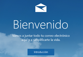 Iniciar sesion Outlook [app correo Windows 10]