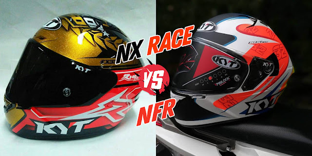 Review Helm KYT NX Race VS KYT NFR, Pilih Mana?