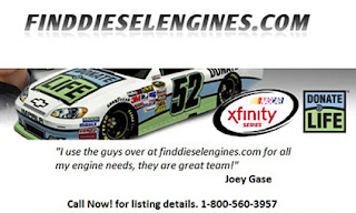 The Bianchis also run the site www.finddieselengines.com