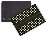 A typical BGA package for DDR memory