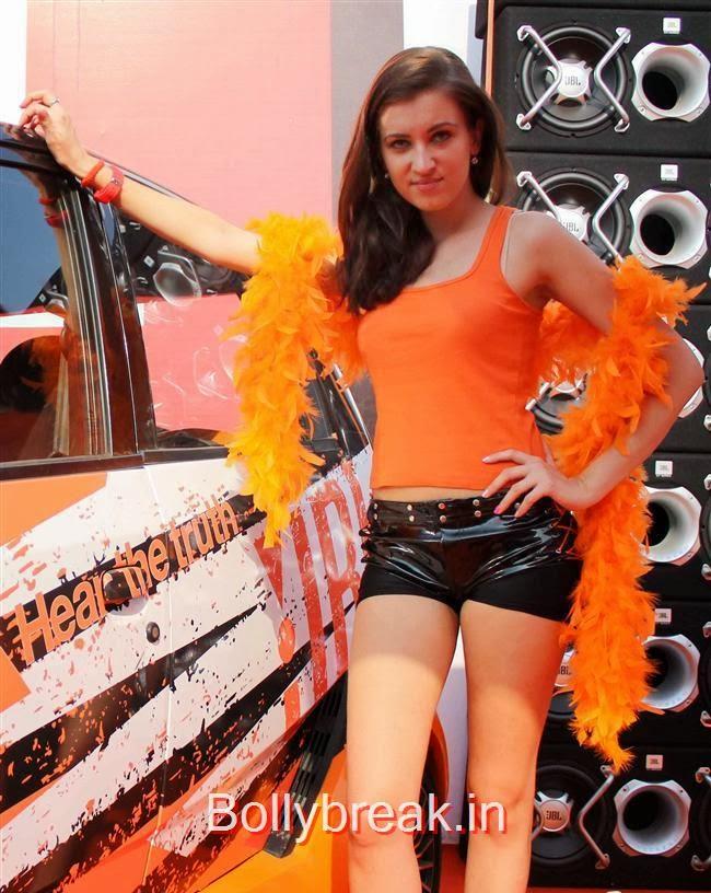 Autocar Performance Show 2013, Jacqueline Fernandez at Autocar Performance Show 2013