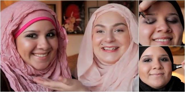 Tutorial Makeup Pesta Untuk Wanita Muslimah Berwajah Bulat 17f794bf38
