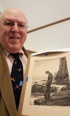 Sherlock Holmes in Deep Meditation. Sir Arthur Conan Doyle. for S. Brent Morris. by Travis Simpkins