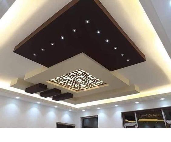 45 Modern false ceiling designs for living room - POP wall ...