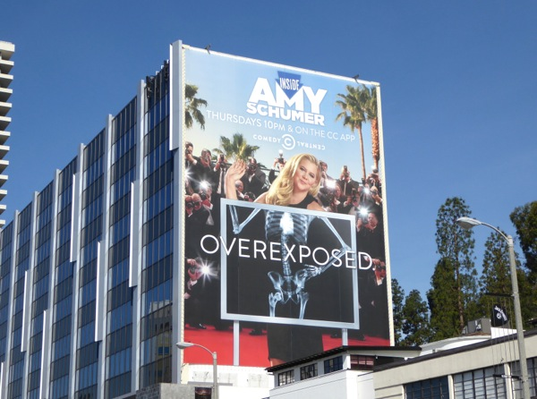Inside Amy Schumer Overexposed season 4 billboard