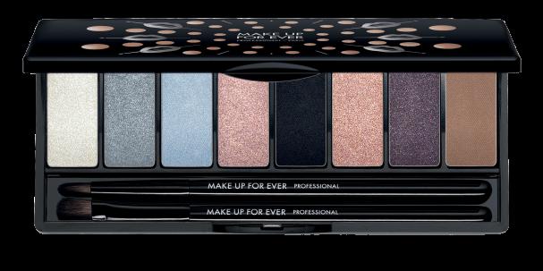 Paleta Midnight Glow ed limitada de Make Up Forever - Blog de Belleza Cosmetica que Si Funciona