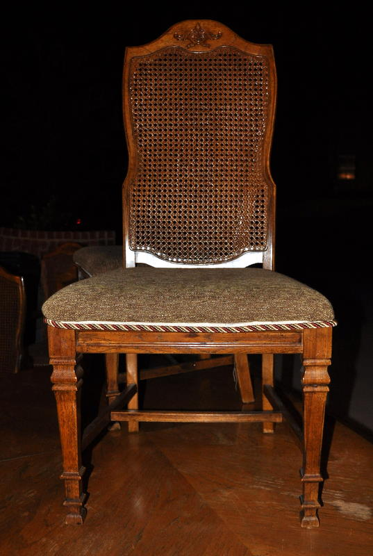 Dining Chair Set Shabby Chic
