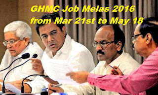 GHMC Job Mela 2016 JOb Fair