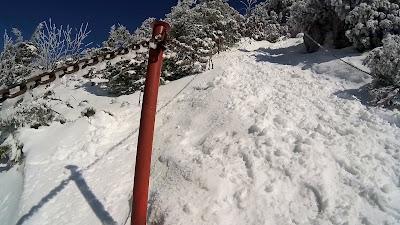 Wielki Chocz łańcuchy zimą
