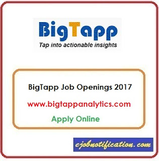 BigTapp Hiring Freshers Text Mining Jobs in Chennai Apply Online