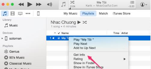 Huong dan cai nhac chuong cho iphone