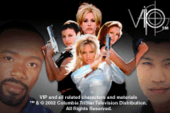 V.I.P Game Boy Advance title screen