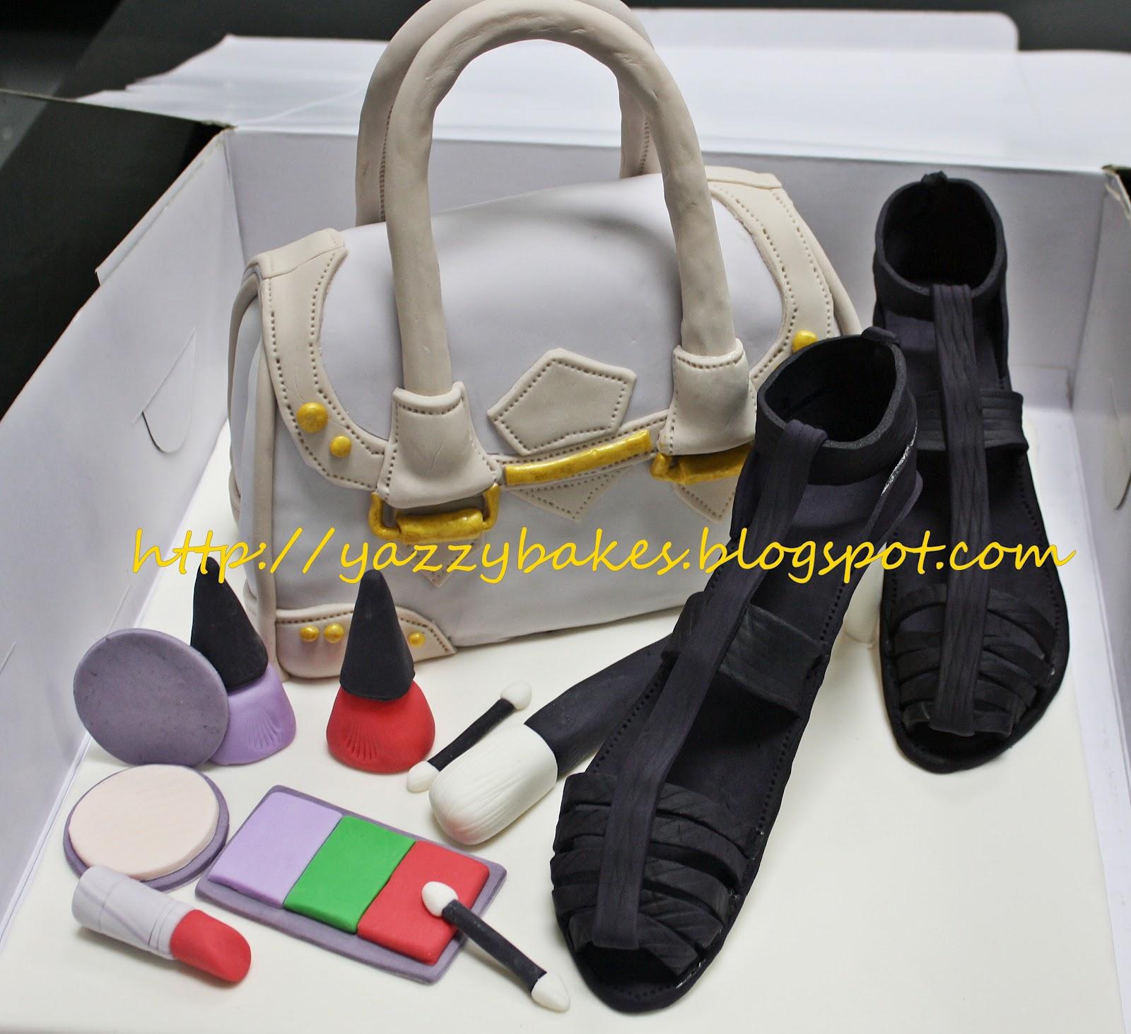 Yazzy Bakes Handbag Shoes Amp Make Up