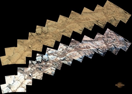 Sol 1133 Curiosity Right Mastcam (M-100) Pahrump Hills