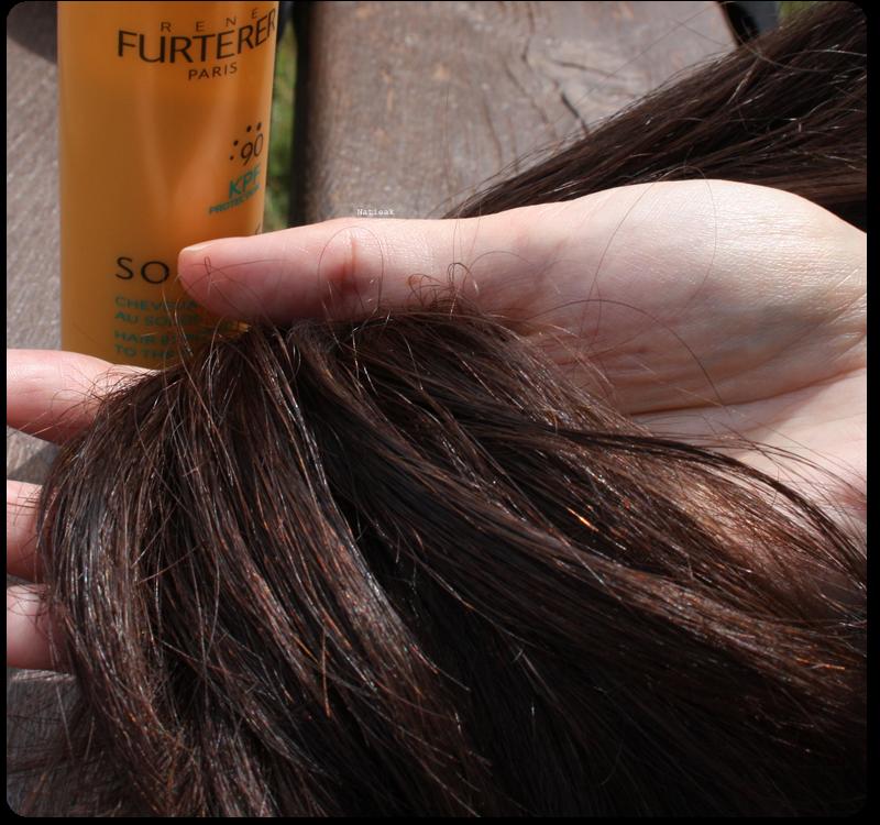 cheveux exposés au soleil René Furterer