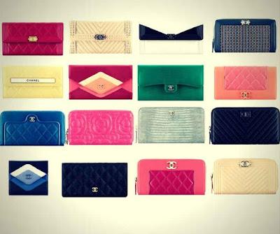 Modelos de Carteiras Femininas Chanel