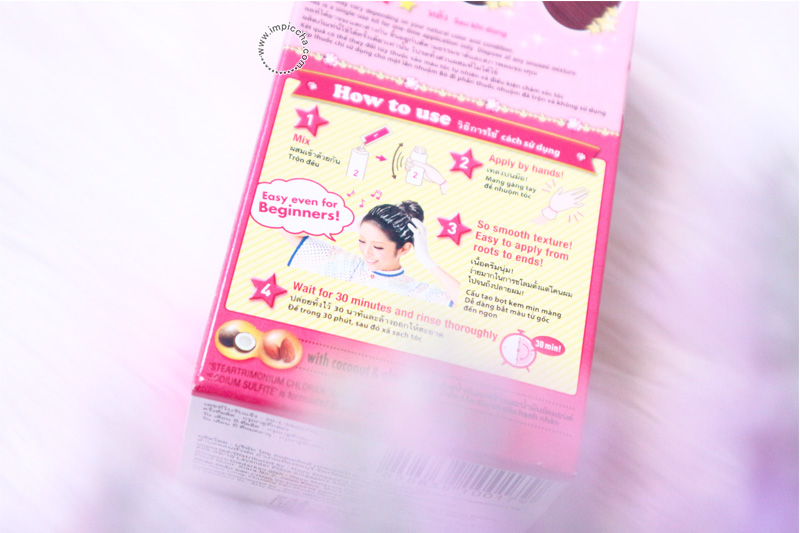 How To Use Beautylabo Hair Color Raspberry Pink