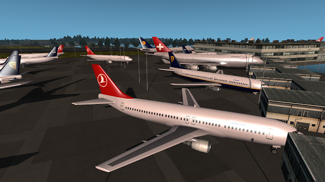 ets 2 real plane livery mod screenshot 4, turkish airlines