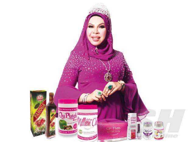Brunei Telah Mengharamkan Penjualan Tiga Produk Keluaran Qu Puteh