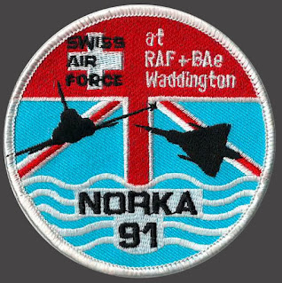 NORKA 91 - Patch «Nordseekampagne 1991»