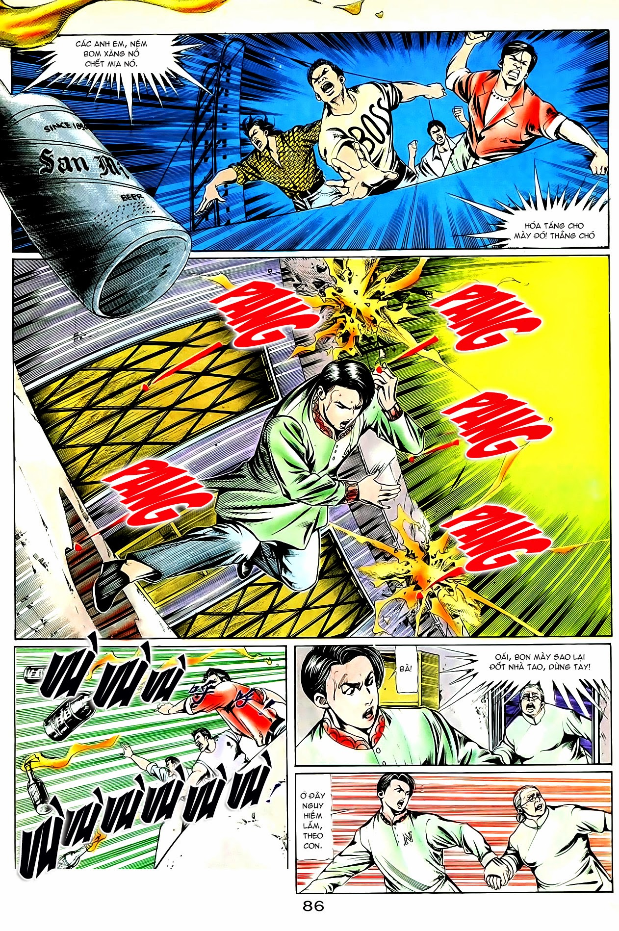 Người Trong Giang Hồ chapter 83: tiêu diệt rồng qua sông trang 9