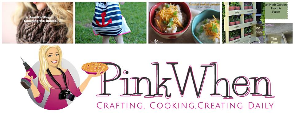 PinkWhen blog: crafting, cooking, creating daily!
