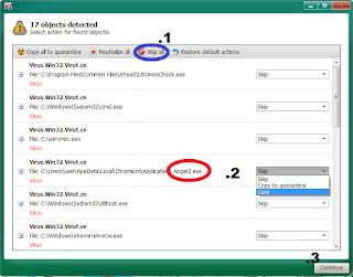 Cara Ampuh Menghapus Virus Angel2.exe (trojan)
