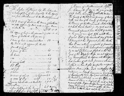 Climbing My Family Tree: Second and Third Pages of Memorial Of Joshua Currey, claim for reparations