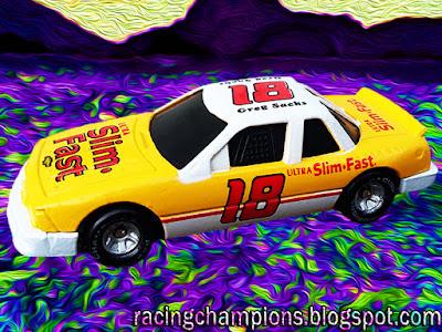 Greg Sacks #18 Slim Fast Racing Champions 1/64 NASCAR diecast blog Jay Fogleman
