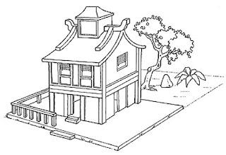 Diveros tipos de moradia-casa oriental
