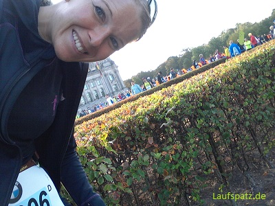 Berlinmarathon 2018 Finish Medaille Laufspatz.de Start