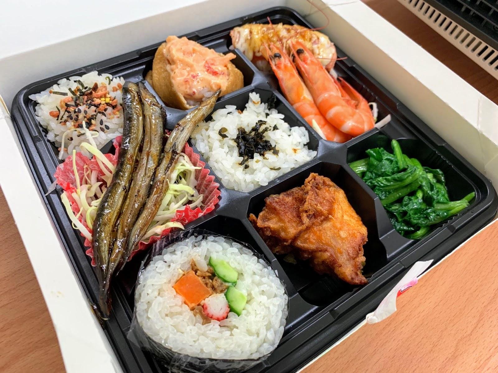 臺南日式便當推薦 佐久日式食堂-商業午餐只要80元!可外送,平價大滿足CP值高!