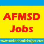 AFMSD Recruitment