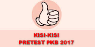 Download Kisi - Kisi Pretest PKB Bahasa Inggris SMA SMK Update 2017