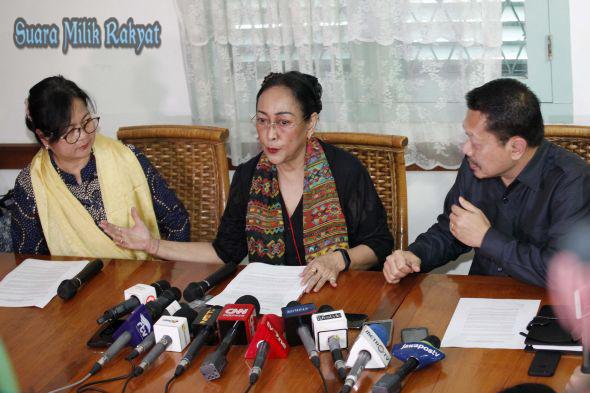 Sukmawati yang berani menyampaikan permintaan maaf ke masyarakat Indonesia Harus Dicontoh Ujar Anggota Komisi III