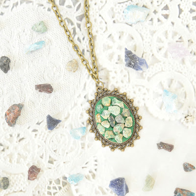 DIY Gemstone Necklace