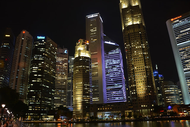 Singapore by night