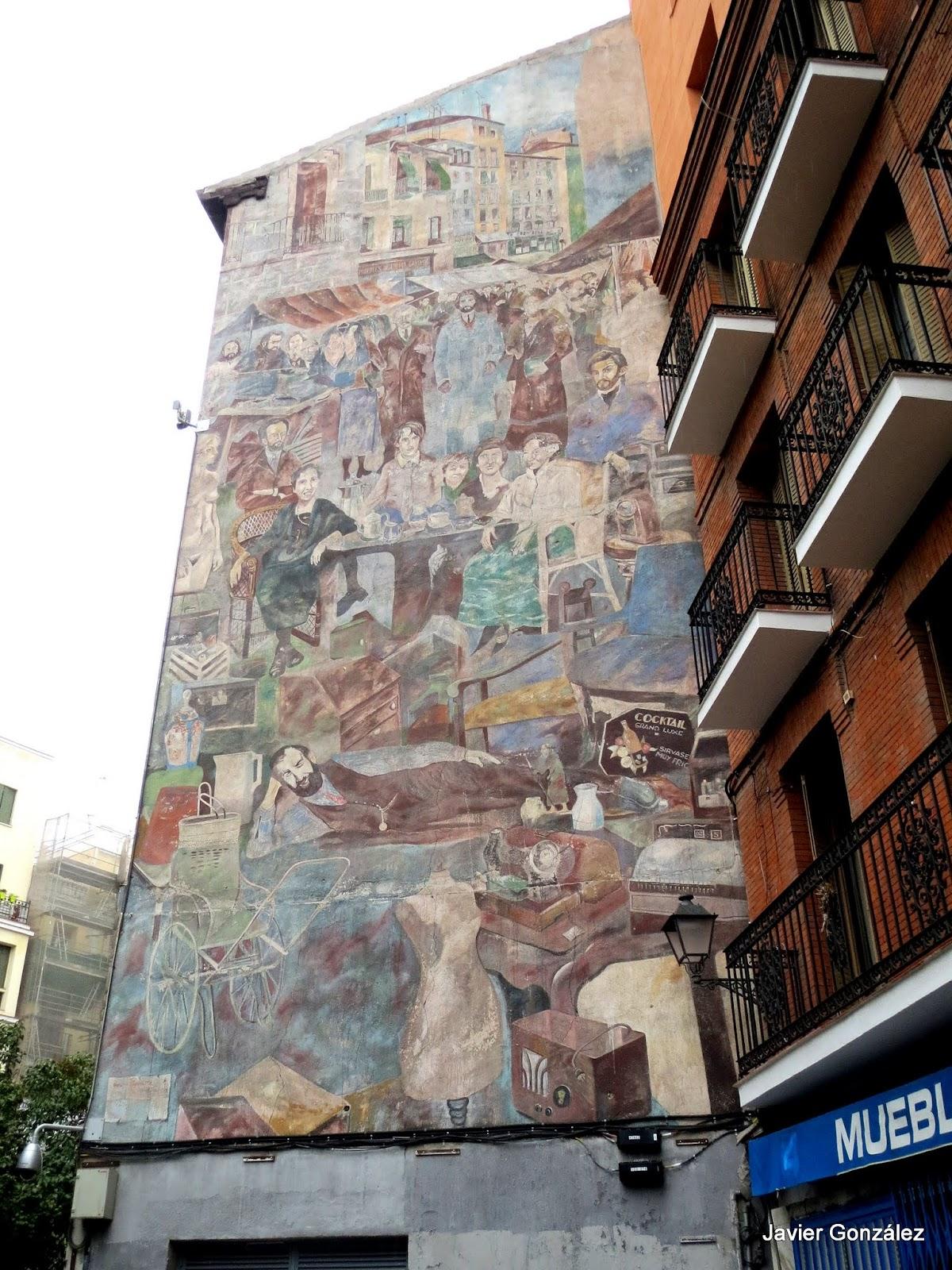 Ribera de curtidores. Mural. #cityscapes