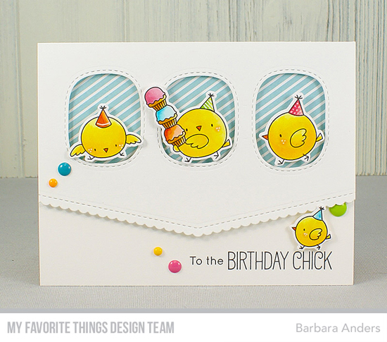 Handmade card by Barbara Anders featuring products from My Favorite Things #mftstamps