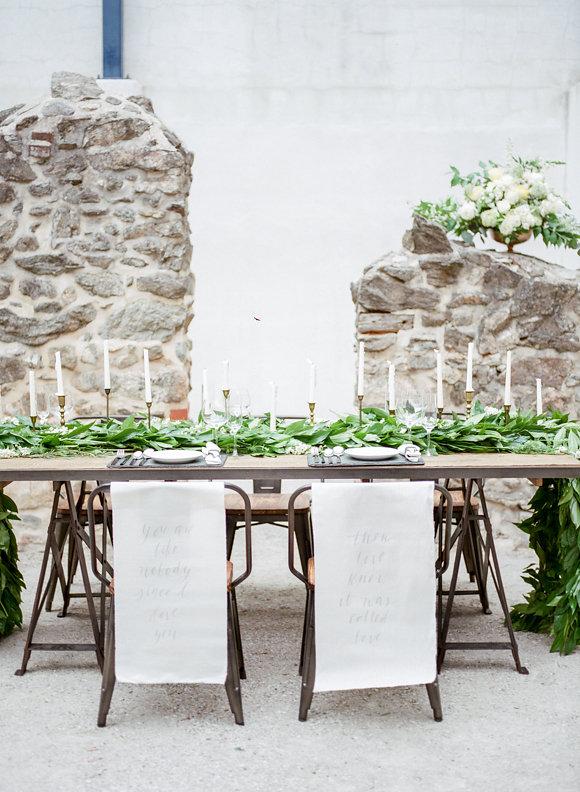 Una boda con mucha naturalidad en LOVE, LOVE by chicanddeco