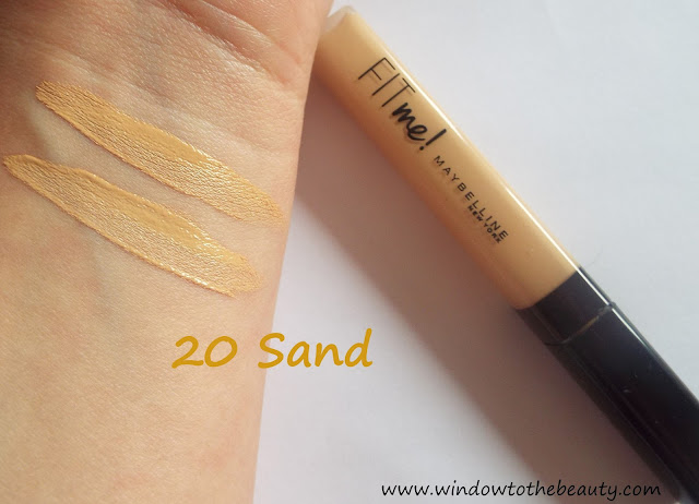 Maybelline shade sand 20