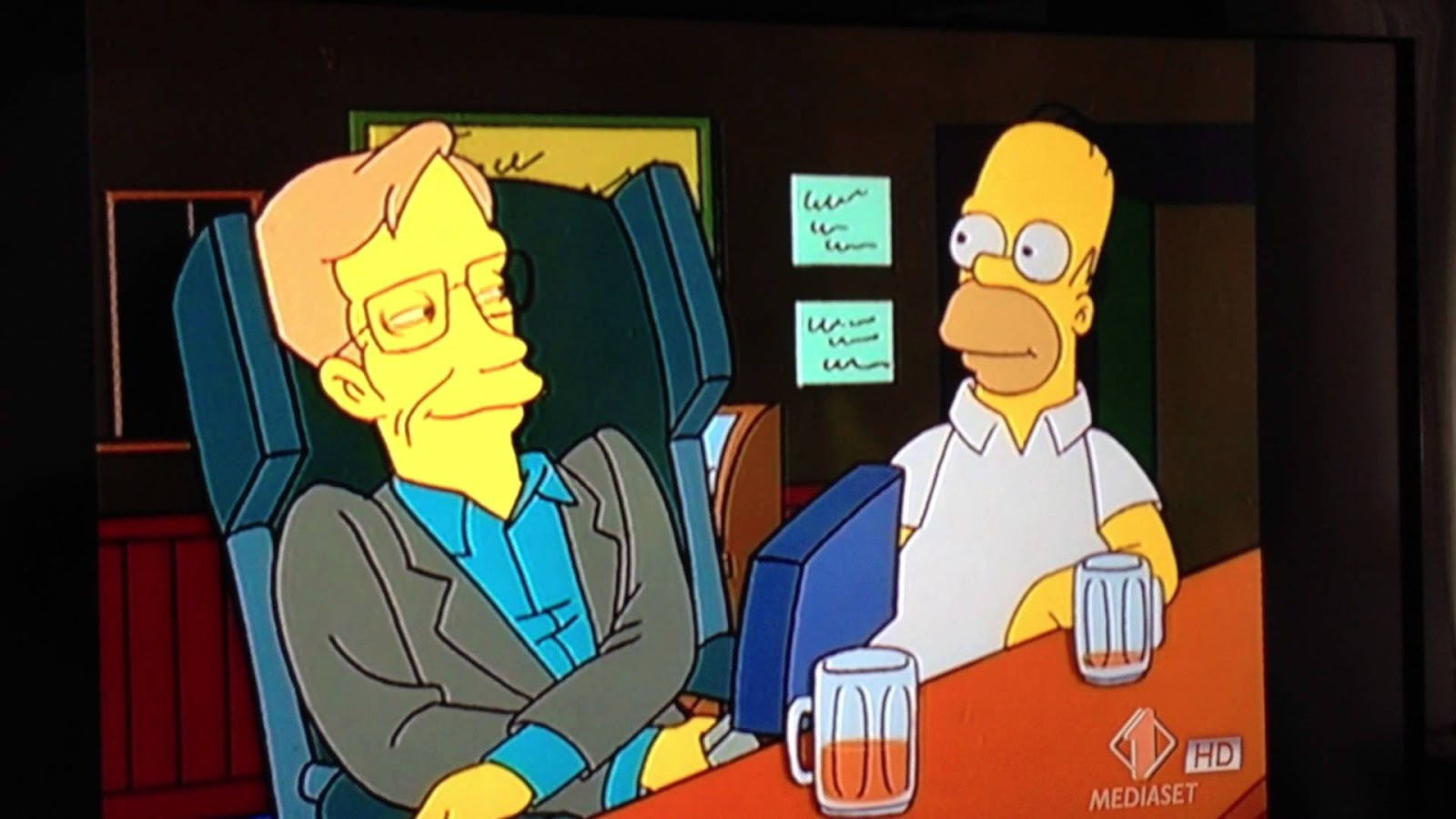 Stephen Hawking nos Simpsons