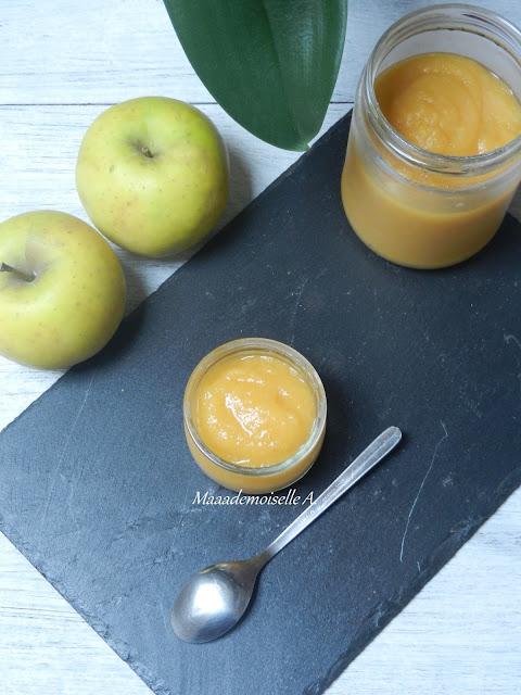 Recette de petit pot pour bébé : Compote Pomme - Abricot