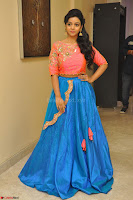 Nithya Shetty in Orange Choli at Kalamandir Foundation 7th anniversary Celebrations ~  Actress Galleries 045.JPG