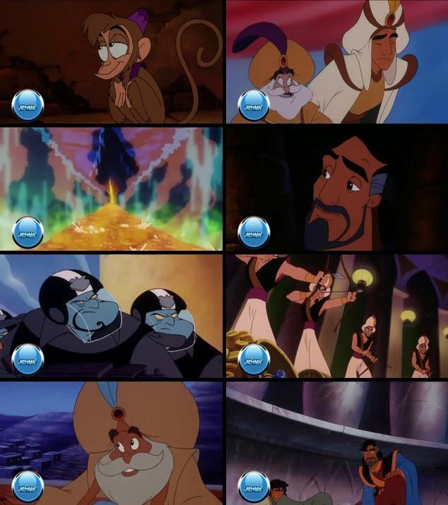 Aladdin and the King of Thieves 1996 Dual Audio [Hindi Eng] 720p HDRip
