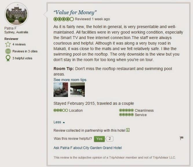 City Garden Grand Hotel review